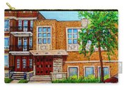 Legare And Hutchison Synagogue Montreal Carry-all Pouch