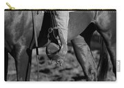 Legs Black And White Carry-all Pouch