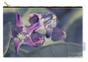 Lei Pua Kalaunu - Crown Flower - Calotropis Gigantea Carry-all Pouch