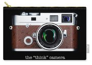 Leica M7 Carry-all Pouch by Dave Bowman