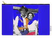 Leif Erickson Linda Cristal The High Chaparral Set Publicity Photo Old Tucson Arizona C. 1967-2012 Carry-all Pouch