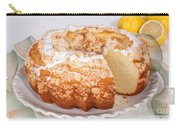 Lemon Bundtcake With Wedge Cut Out Carry-all Pouch
