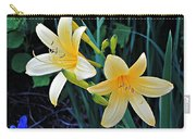 Lemon Lily Blooms Carry-all Pouch