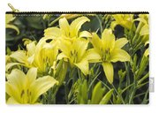 Lemon Yellow Daylilies Carry-all Pouch