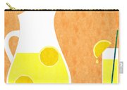 Lemonade And Glass Orange Carry-all Pouch