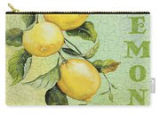 Lemons On Watercolor Carry-all Pouch