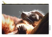 Lemur Lounging Carry-all Pouch