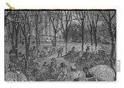 Lenox, Massachusetts, From Historical Collections Of Massachusetts, John Warner Barber, Engraved Carry-all Pouch