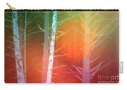 Lens Flare In The Forest Carry-all Pouch
