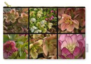 Lenten Rose Collage Carry-all Pouch