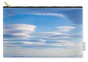 Lenticular Clouds Forming In The Troposphere Carry-all Pouch