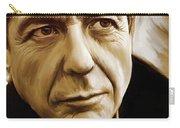 Leonard Cohen Artwork Carry-all Pouch