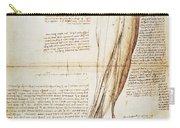 Leonardo: Anatomy, 1510 Carry-all Pouch