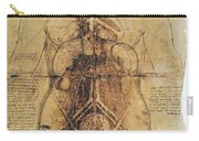 Leonardo: Anatomy, C1510 Carry-all Pouch