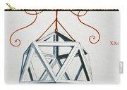 Leonardo Icosahedron Carry-all Pouch