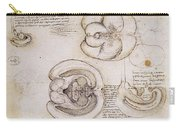 Leonardo: Ventricles, C1508 Carry-all Pouch