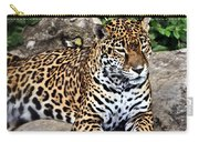Leopard At Rest Carry-all Pouch