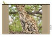 Leopard Cub Gaze Carry-all Pouch