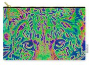 Leopard Eyes Green Carry-all Pouch