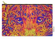 Leopard Eyes Orange Carry-all Pouch