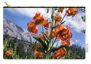 Leopard Lilies Below Lassen Peak Carry-all Pouch