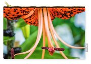 Leopard Lily Carry-all Pouch