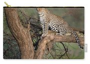 Leopard Panthera Pardus Sitting Carry-all Pouch
