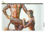 Leopard People Carry-all Pouch by Andrew Farley