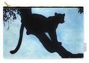Leopard - Silhouette Carry-all Pouch