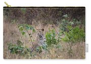 Leopard Sits Carry-all Pouch
