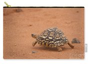 Leopard Tortoise Running Carry-all Pouch