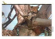 Leopard Up A Tree Carry-all Pouch