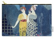 Les Modes Carry-all Pouch by Georges Barbier