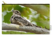 Lesser Nighthawk On Branch Carry-all Pouch