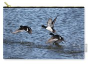 Lesser Scaup Ducks Carry-all Pouch