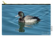 Lesser Scaup Male Swimming Carry-all Pouch