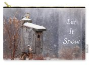 Let It Snow - Bluebirds Carry-all Pouch