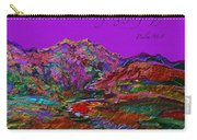 Let The Mountains Sing Carry-all Pouch