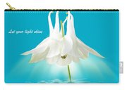 Let Your Light Shine Carry-all Pouch by Gill Billington