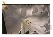 Shining Through The Darkness - Flower Art Carry-all Pouch