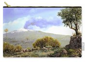 l'Etna  Carry-all Pouch by Guido Borelli