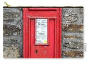 Victorian Red Letter Box Carry-all Pouch