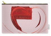 Letter From My Heart Fine Fractal Art Carry-all Pouch