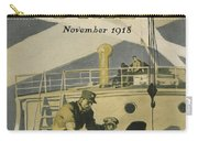 Letters To Our Boys In France Carry-all Pouch by Edward Hopper