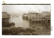 Lewis Fish Market Selected Fresh Fish And Swains Fish Market Monterey 1929 Carry-all Pouch