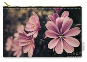 Lewisia Flowers - 7 Carry-all Pouch