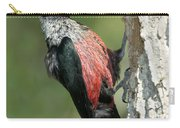 Lewiss Woodpecker With Fruit In Beak Carry-all Pouch