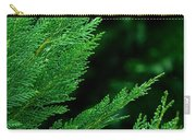 Leyland Cypress Green Carry-all Pouch