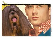 Lhasa Apso Art - East Of Eden Movie Poster Carry-all Pouch
