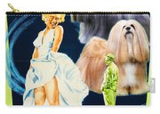 Lhasa Apso Art - The Seven Year Itch Movie Poster Carry-all Pouch